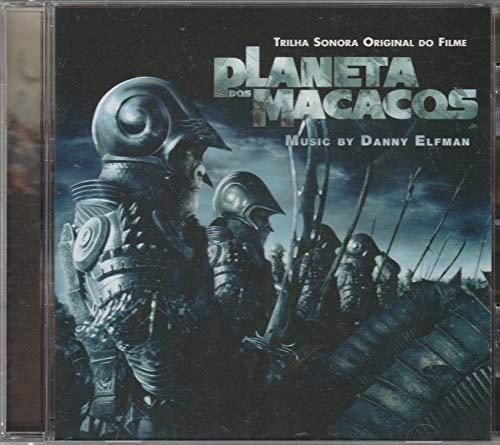 Planeta Dos Macacos - Cd Trilha Sonora Original Do Filme - 2001