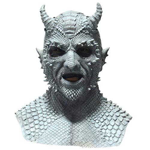 WBTY Mscara de ltex natural para cosplay, el Seor de las Mentiras, mscara para disfraz de Halloween