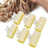 Rizador de pelo, 6pcs / set Air Bangs Roller Easy Shaping Conveniente para operar para la mujer para el hogar