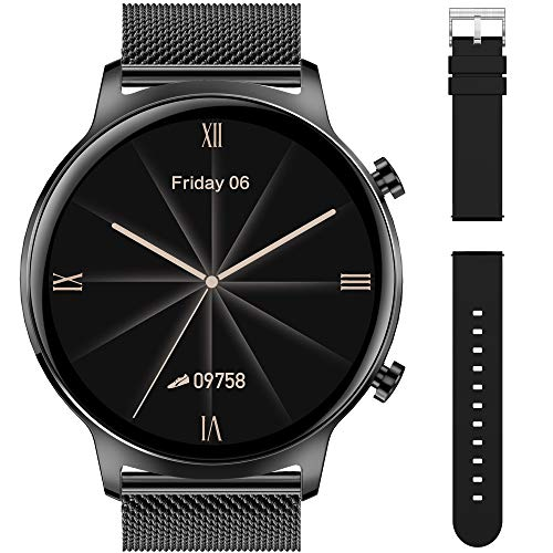 Smartwatch Orologio Fitness IP68 1.3'' Schermo a colori tattile completo Intelligente Fitness Tracker cardiofrequenzimetro,notifiche,contapassi,Controllo Musica Cronometro Interfacce Personalizzate