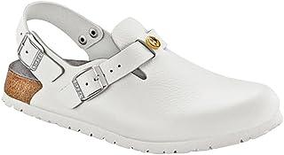 0f511ebac2531 Amazon.com: Birkenstock - White / Mules & Clogs / Shoes: Clothing ...