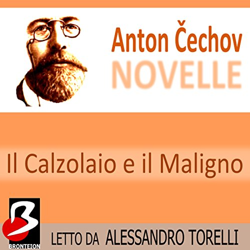 Novelle di Cechov: il Calzolaio e il Maligno [The House with the Mezzanine] audiobook cover art