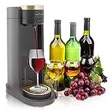 NutriChef PKWNARDS38 Distributeur de vin électrique et Automatique - Pompe à vin avec Pompe à Alcool - Débit Facile, Alimentation par Piles