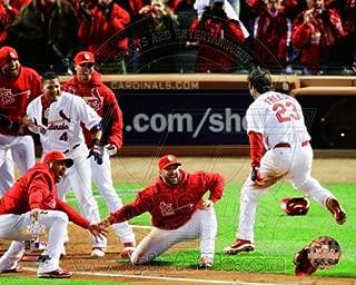 David Freese St. Louis Cardinals 2011 World Series Walk Off Home Run Celebration #4