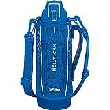 サーモス 水筒 真空断熱スポーツボトル 1L ブルーシルバー 保冷専用 FHT-1001F BLSL