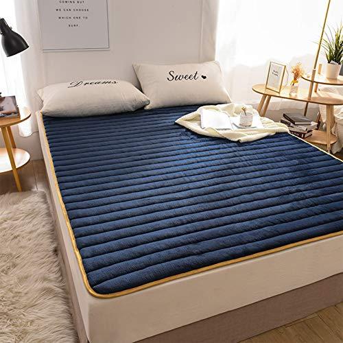 MYYU Japanese Tatami Mattress, Futon Mattress Full Size Folding Floor Mattress for Guest Room Japanese Bed Student Dormitory,6cm,120 * 200cm