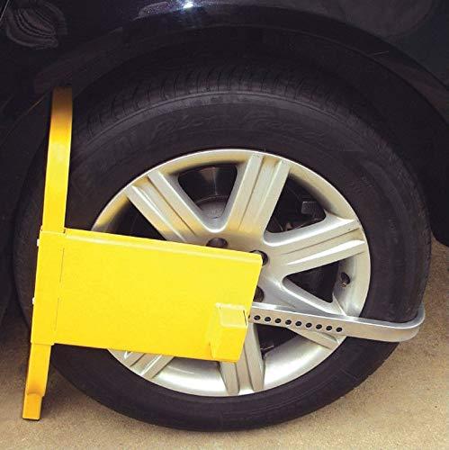 . rity A - Bloqueo de neumáticos antirrobo para Caravana, Coche, Furgoneta, Caravana, Caravana, Furgoneta, carava, tamaño pequeño