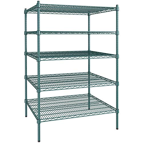 30 Ranking TOP16 inch x Industry No. 1 36 Green Epoxy 5 Kit St with 64 Shelf Posts.