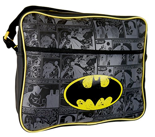 Batman Bolso Escolar BATMAN001016 Azul