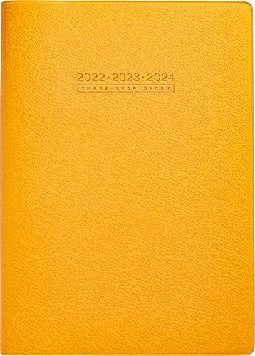 高橋 手帳 2022年 A5 3年卓上日誌 オレンジ No.96 (2022年 1月始まり)