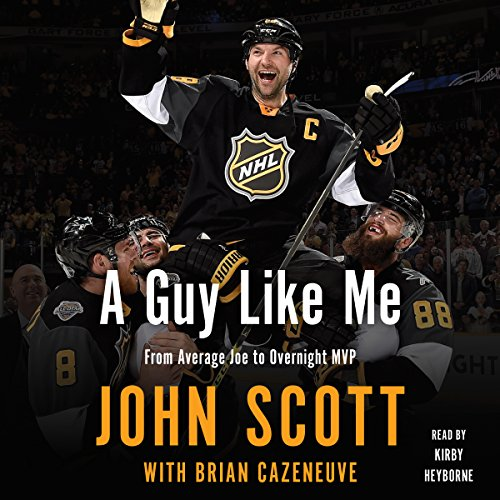 A Guy Like Me                   By:                                                                                                                                 John Scott,                                                                                        Brian Cazeneuve                               Narrated by:                                                                                                                                 Kirby Heyborne                      Length: 6 hrs and 49 mins     1 rating     Overall 5.0