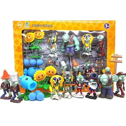 High Quaility Plants Vs Zombies Peashooter Action PVC Figure Model Toy Gifts Pianta Vs Zombies toys Toys For Children