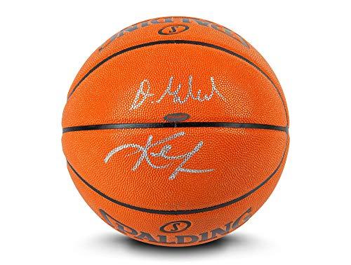 Review Upper Deck Kevin Love & Darius Garland Dual Signed Indoor/Outdoor Spalding Basketball