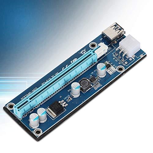 Tarjeta Vertical, USB3.0 PCI-E 1x a 16x Tarjeta adaptadora Vertical con IDE...