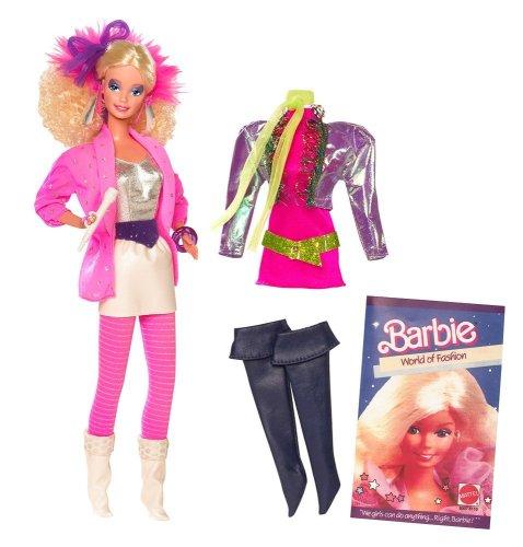 Barbie My Favorite Time Capsule 1986 Rockers doll