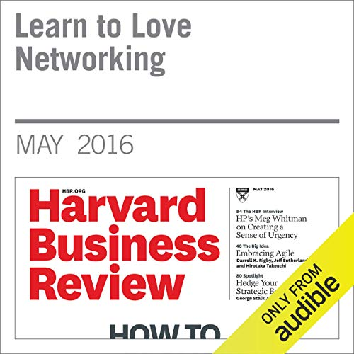 Learn to Love Networking audiobook cover art