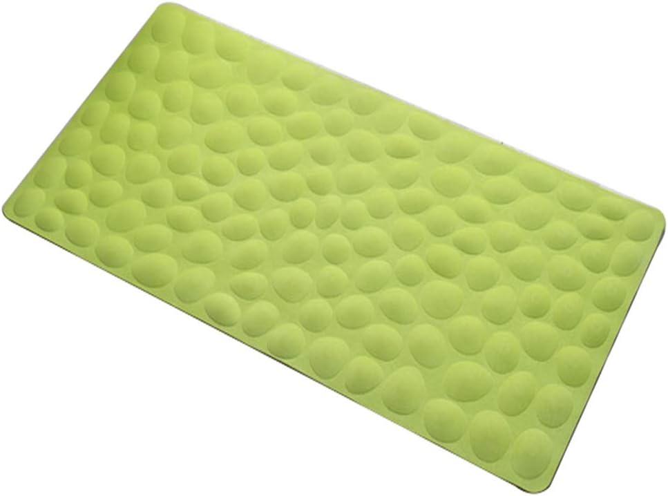 FENGSR Sale SALE% OFF Shower Mat Rubber Cobblestone Comf Non-Slip Max 46% OFF Stable Design