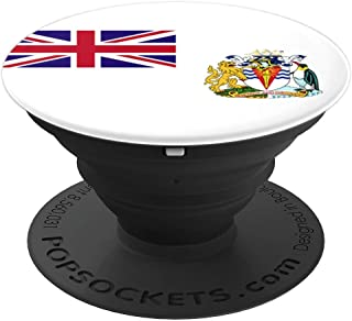 British Antarctic Territory Flag - PopSockets Grip and Stand for Phones and Tablets