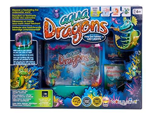 Aqua Dragons- Mundo Submarino Juguete Educativo, Multicolor (World Alive W4003)