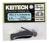 KEITECH ケイテック ワーム ラバージグ モデルIIVer.2.0 11g FT11-001 ブラック