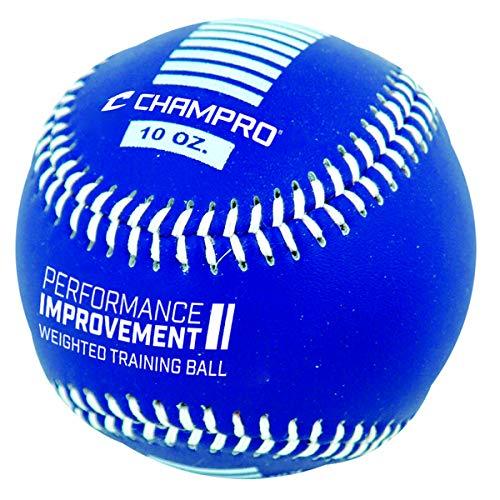 CHAMPRO Weighted Training Baseballs Royal Blue 10oz CBB710