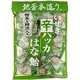 井関食品 甜茶と柿渋入り 辛ハッカはな飴 120g 1袋 渋柿 かきしぶ あめ