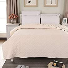Flannel Bedspread Throws Cotton Quilted Coverlets Single Double Bed Multifunction Blanket Primrose Embroidered Quilt Bed T...