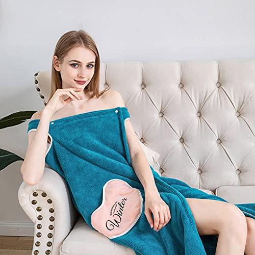 N\C Falda de baño para Mujer Albornoz de Microfibra Multifuncional de Verano Puede Usar una Toalla de baño Suave para Adultos para Textiles para el hogar Toalla de baño y Sauna