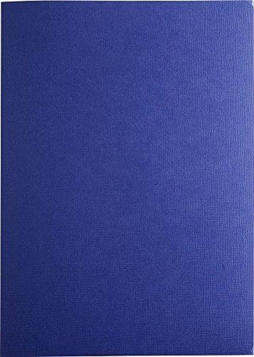 Premium Präsentations & Bewerbungsmappe blau