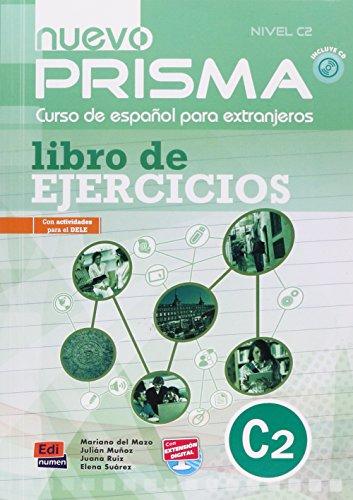 Nuevo prisma. C2. Ejercicios. Per le Scuole superiori. Con CD Audio: Exercises Book + CD