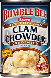 bumble bee snow's new england clam chowder
