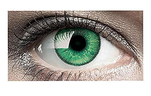 Bausch und Lomb SofLens Natural Colors Monatslinsen, sphärische Kontaktlinsen, weich, Emerald 2 Stück BC 8.7 mm / DIA 14 / -3.5 Dioptrien