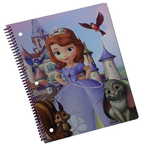 Disney Junior Sofia the First Spiral Notebook (Graphics/Colors Vary) by Disney Junior Sofia the First