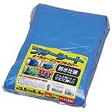 アイリスオーヤマ ブルーシート #3000 厚手 防水仕様 サビに強い 3.6m×5.4m ハトメ数20
