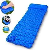 Sportneer Camping Sleeping Pad Built-in Pump, Inflatable Camp Mat Pads...