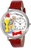 Whimsical Watches - U-0450009 - Montre Mixte - Quartz - Analogique - Bracelet Cuir Multicolore