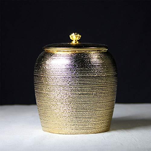 JKGHK Urna de cerámica Urnas de cremación únicas para Mascotas Urnas conmemorativas para Mascotas para Perros Grandes Urnas de Recuerdo para Mascotas para Perros Cenizas para Mascotas,A