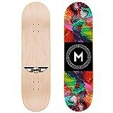 Abstract Skateboard Deck 8.25' Street