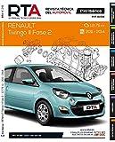 Documentación técnica RTA 291 RENAULT TWINGO II FASE 2 (2011 -2014)