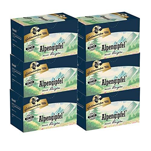 Goldmännchen-TEE Alpengipfel mit griechischem Bergtee 6er Pack
