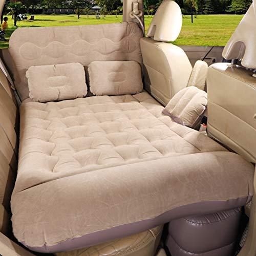 DOLA 3 in 1 Funktionale Auto-Luftmatratze, SUV-Auto-Camping-Reise-Schlafbett Mit 2 Kissen, Für Sedan-Pickup-Rücksitz,c