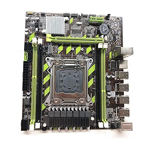 BoBoLily Placa base, placa base Amd Wifi, X79 M.2 LGA 2011 2 SATA2.0 2 SATA3.0 4 DDR3 8 USB 2.0 Desktop Motherboard