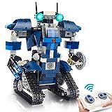 Gxi STEM Ferngesteuerter Roboter Spielzeug Bausatz - 405 Teile Roboterbausatz für Kinder - Pädagogisch wertvolles Lernspielzeug Jungen und Mädchen ab 8 - 12 Jahren