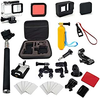 30-In-1 Outdoor Sports Action Camera Accessories Kit for gopro hero6/hero5 Common Camcorder Bundles