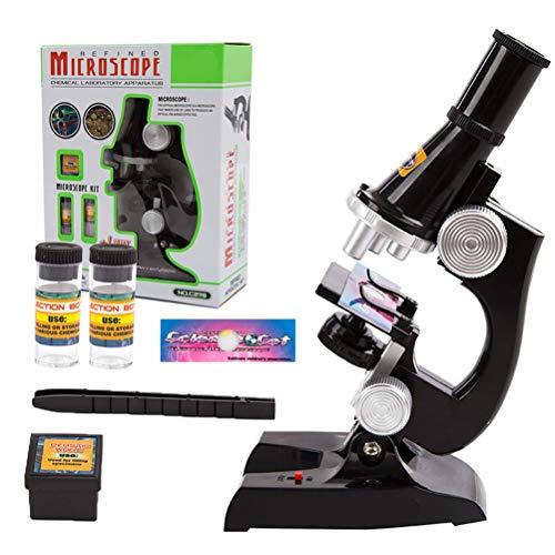 Borstu Microscoop educatieve microscope kit mini wetenschap cadeau voor beginners thuis school