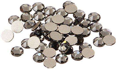 Swarovski Professional 2088 SS16 Black Diamond Flat Back Crystal Rhinestone