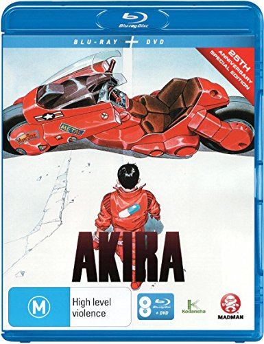 Akira [Blu-ray + DVD] [25th Anniversary Edition] [NON-USA Format / Region B Import - Australia]