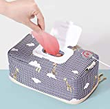 Portable Wipe Warmer, USB Power Wet Wipes Warmer Container | Bag | Dispenser | Case | Holder, Large Capacity, Diaper Wipe Warmer with Light, Power by Car Charger | Power Bank | USB Power 5V 2A.