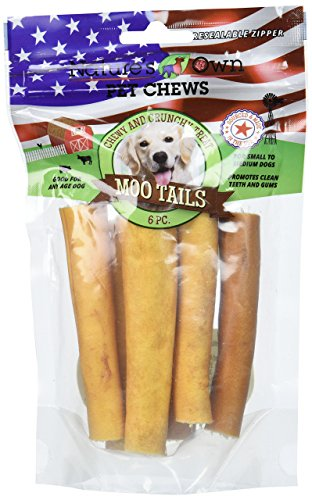 Best Buy Bones Nature's Own Moo Tails Pet Chews (1 Pack) 6 pieces , One Size