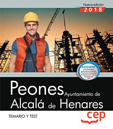 Peones. Ayuntamiento de Alcalá de Henares. Temario y test